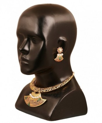 Touchstone Collection traditional bollywood necklace in Women's Jewelry Sets