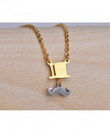 XUN British Mustache Necklace Pendant in Women's Pendants