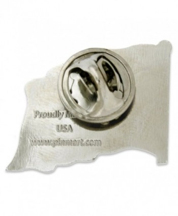 PinMarts Proudly American Jewelry Silver in Women's Brooches & Pins