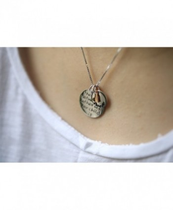 Sterling Pendant Neccklace Between Necklace