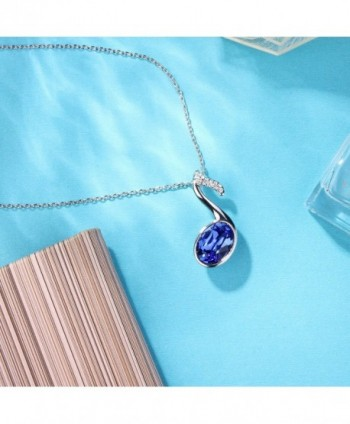 Angealdy Pendant Necklace Swarovski birthday in Women's Pendants
