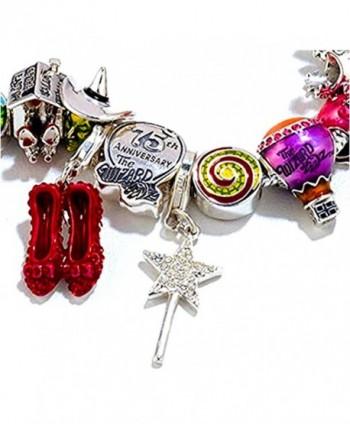 Sterling Silver Wizard Crystal Glindas in Women's Charms & Charm Bracelets