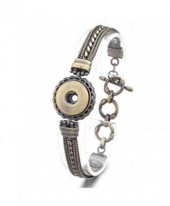 Vocheng 18mm Snaps Antique Multi Chain Bracelet NN-450-A - C812GG8ZA0Z