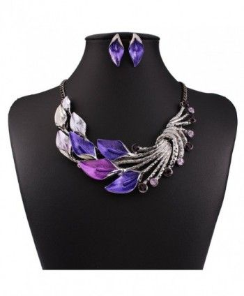 SDLM Fashion Statement Necklace Earrings