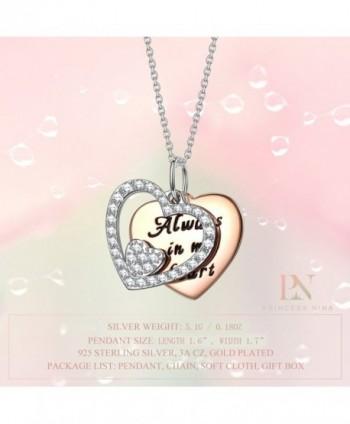 PRINCESS NINA Heart Pendant Anniversary