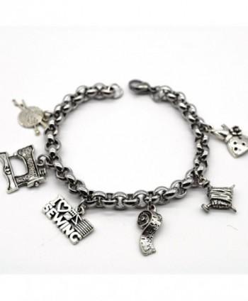 Stainless Charms Bracelet Handmade ML02