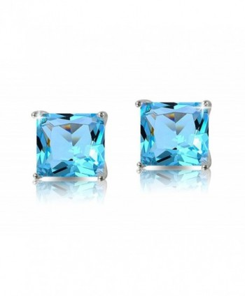 Lelu Sterling Princess Simulated Zirconia