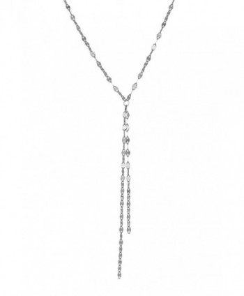 Sterling Silver Tassel Necklace Earrings