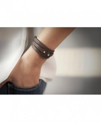 Te Plus Tulsi Swarovski Crystal in Women's Wrap Bracelets