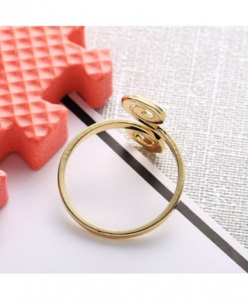 CHUANGYUN Innovative Auspicious Stackable Adjustable in Women's Statement Rings
