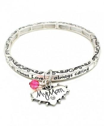 All About Love Charm Bracelet - CK127L0XDFH