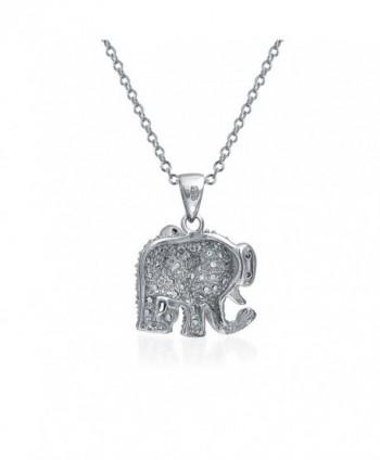 Bling Jewelry Elephant Pendant Necklace in Women's Pendants