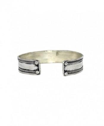 Onyx Bracelet Navajo Cuff BB163