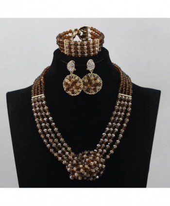 Africanbeads Crystal Necklace Nigerian Wedding