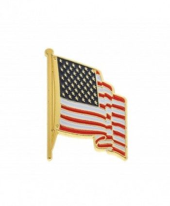 American Flag Pin For Suit Made In USA Lapel Pin (10 Pins) By Antek - CM18503774N