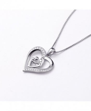 Holding Sterling Mothers Pendant Necklace in Women's Pendants