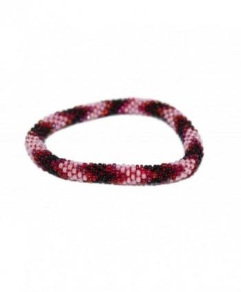 Crochet Glass Bracelet Nepal SB252