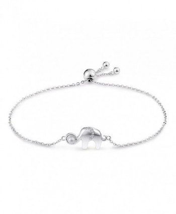 Genuine Sterling Elephant Bracelet Jewelry - CG187QOCEKK