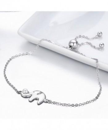 Genuine Sterling Elephant Bracelet Jewelry in Women's Link Bracelets