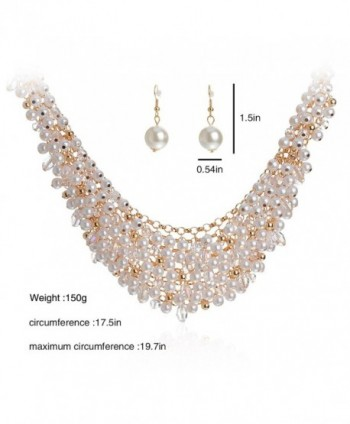 IPINK Fashion Simulated Crystal Jewelry