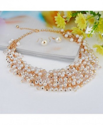 IPINK Fashion Simulated Crystal Jewelry in Women's Chain Necklaces