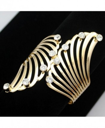 Fashion Guardian Crystal Hinged Bracelet