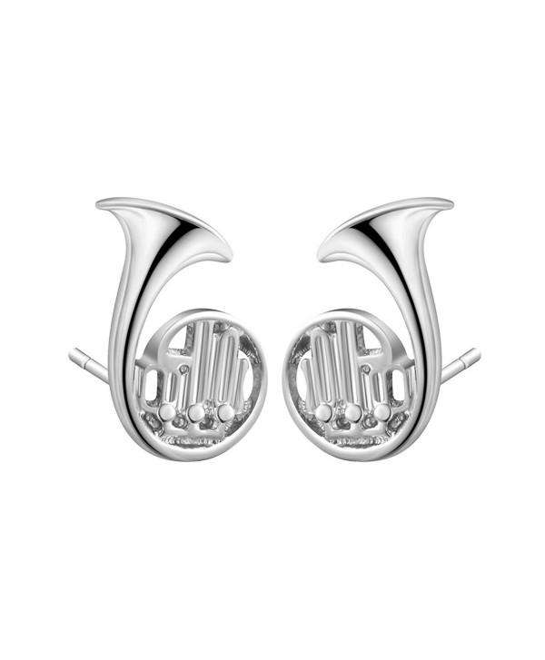 Qiandi Trumpet Piercing Christmas Birthday - Silver Plated - CC186764Q3M
