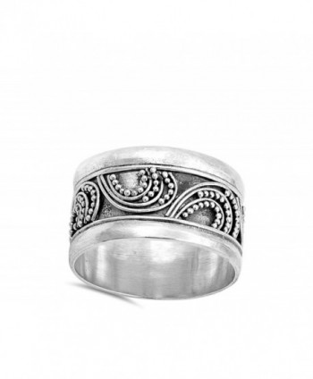Bali Bead Unique Sterling Silver