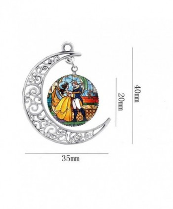 Womens Princess Enchanted Necklace Jewelry in Women's Pendants