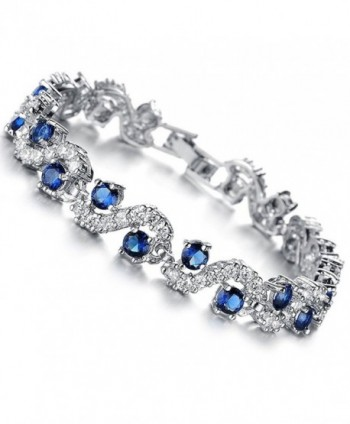 Rhinestone Bracelet Zirconia Crystal Christmas - C11869E2UIT