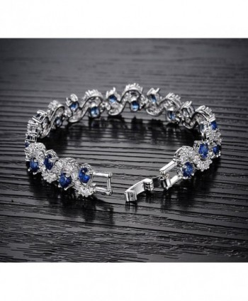 Rhinestone Bracelet Zirconia Crystal Christmas