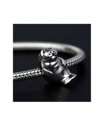 Ohm Beads Sterling Silver Manatee