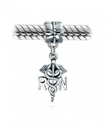 Bling Jewelry Caduceus Dangle Sterling