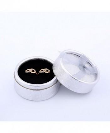 GULICX Infinity Earrings Plated Zirconia