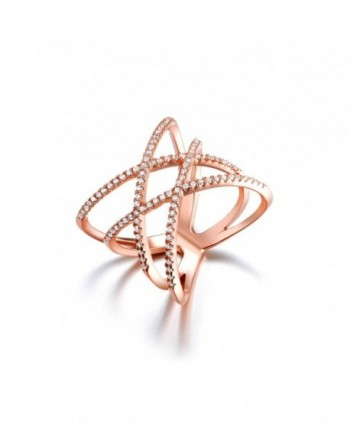 SHINCO Double Cross Plated Trendy - rose-gold-plated-base - CH12C2HHNFP