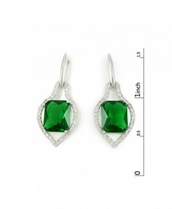 Kemstone Zirconia Crystals Earrings Jewelry