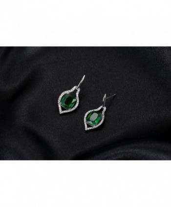 Kemstone Zirconia Crystals Earrings Jewelry in Women's Drop & Dangle Earrings