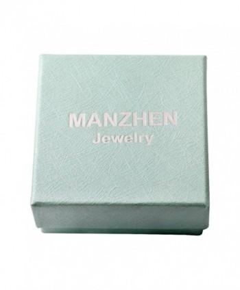 MANZHEN Stainless Lava rock Essential Diffuser in Women's Drop & Dangle Earrings
