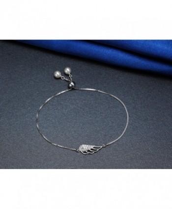 Womens Angel Bracelets Sterling Silver in Women's Link Bracelets