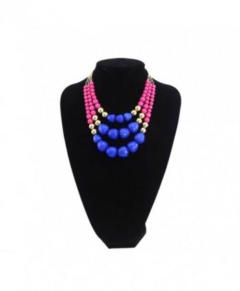TrinketSea Statement Necklaces Colorful Beautiful