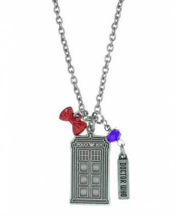 Stainless Steel Doctor Pendant Necklace in Women's Chain Necklaces