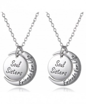 Sisters Friends Matching Necklaces Jewelry - C912HECC8U3