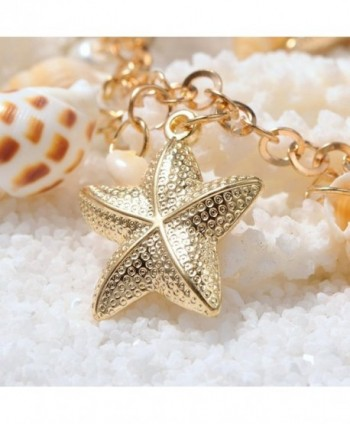 Fashewelry Necklaces Starfish Statement Necklace in Women's Chain Necklaces