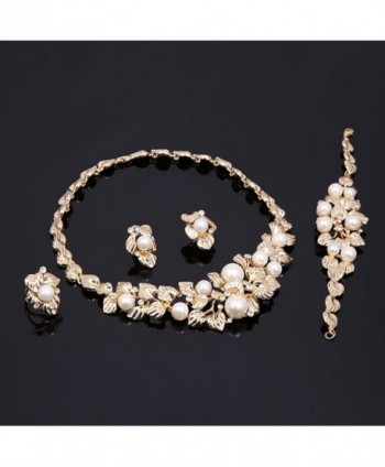 African Pattern Crystal Neacklace Bracelet in Women's Jewelry Sets