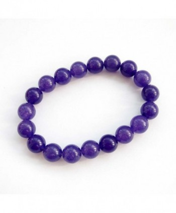Purple Stone Beads Buddhist Wrist