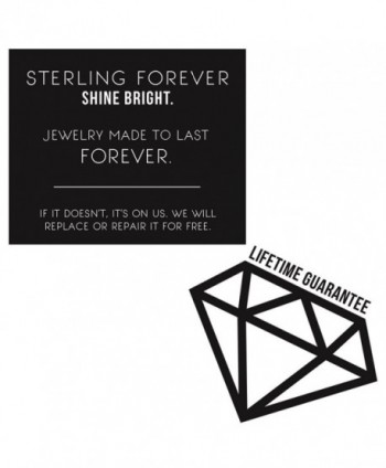 Sterling Forever Silver 38mm Earrings in Women's Hoop Earrings
