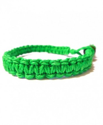 Green Surfer Hawaiian Stackable Bracelet