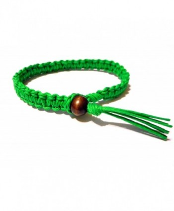 Green Surfer Hawaiian Stackable Bracelet in Women's Stretch Bracelets