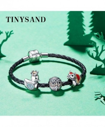 TINYSAND Valentines Stamped Sterling Bracelet