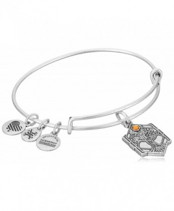 Alex and Ani Tree of Life IV Bangle Bracelet - Rafaelian Silver - CU12O5M2VDU